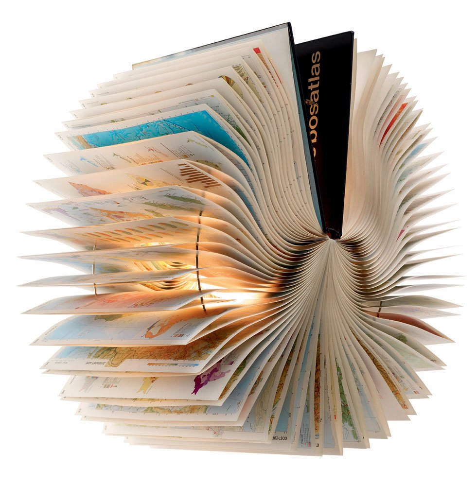 Atlas Book Lampe von Michael Bom für Bomdesign