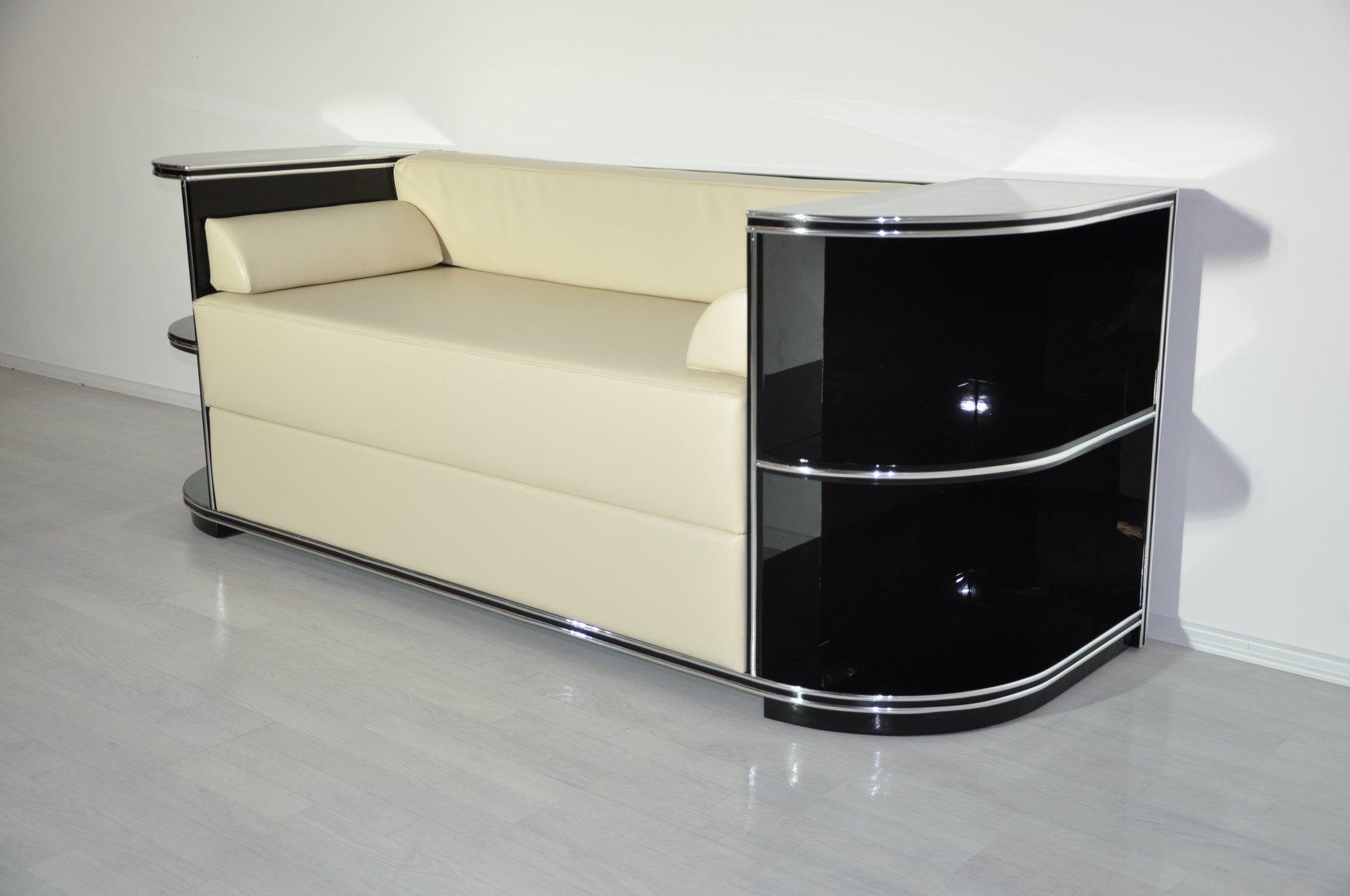 Strange Verchromtes Art Deco Sofa 1920Er Evergreenethics Interior Chair Design Evergreenethicsorg