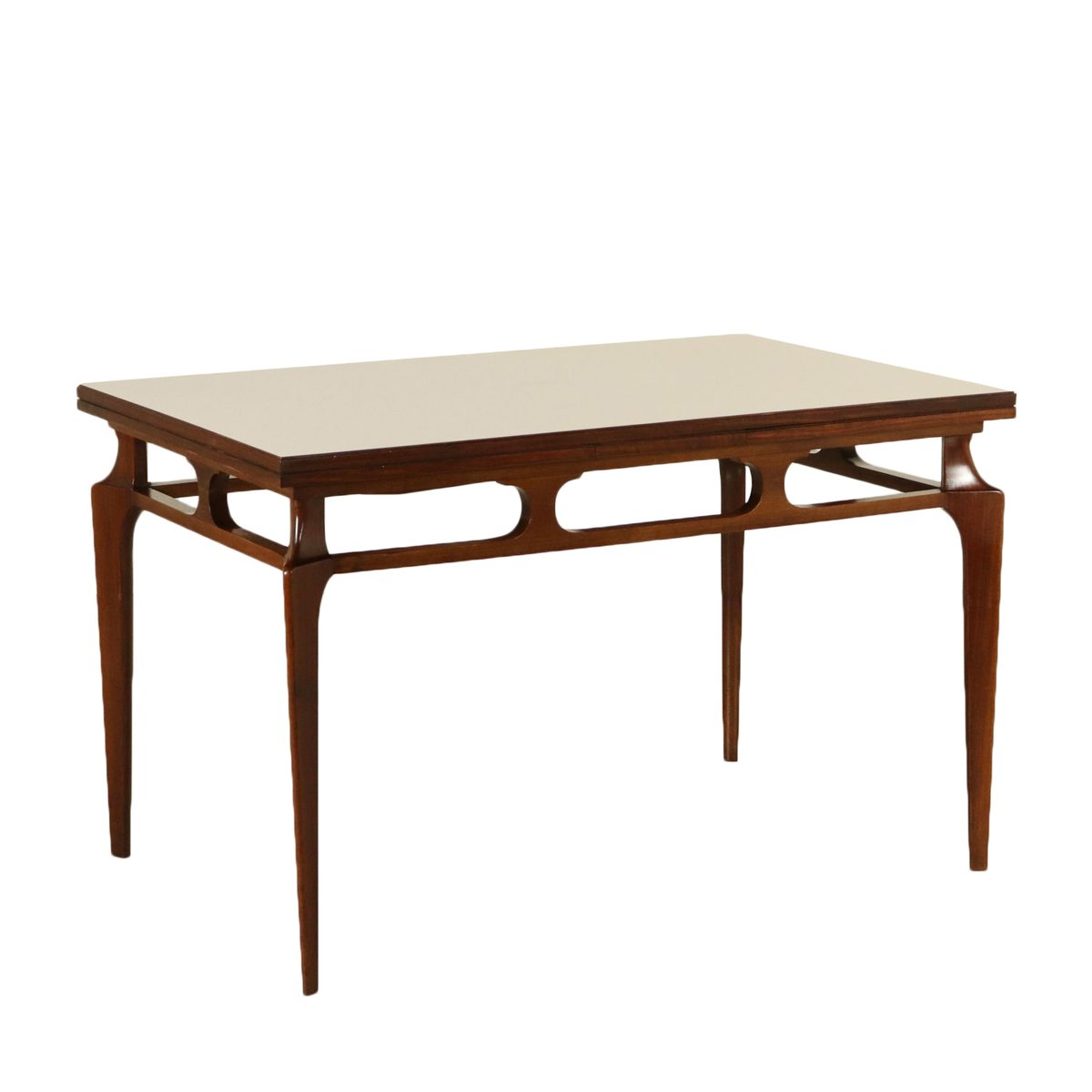 Italian Stained Beech Formica Extendable Dining Table S For - Extendable beech dining table