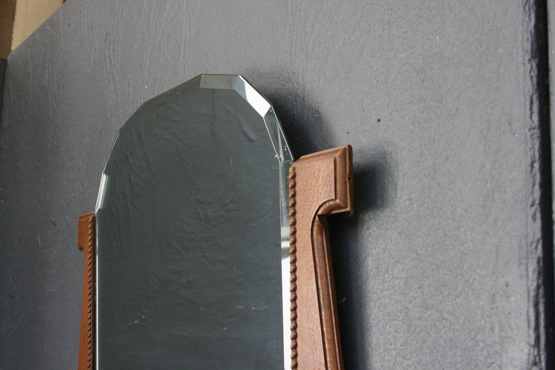 art deco spiegel bei pamono kaufen. Black Bedroom Furniture Sets. Home Design Ideas