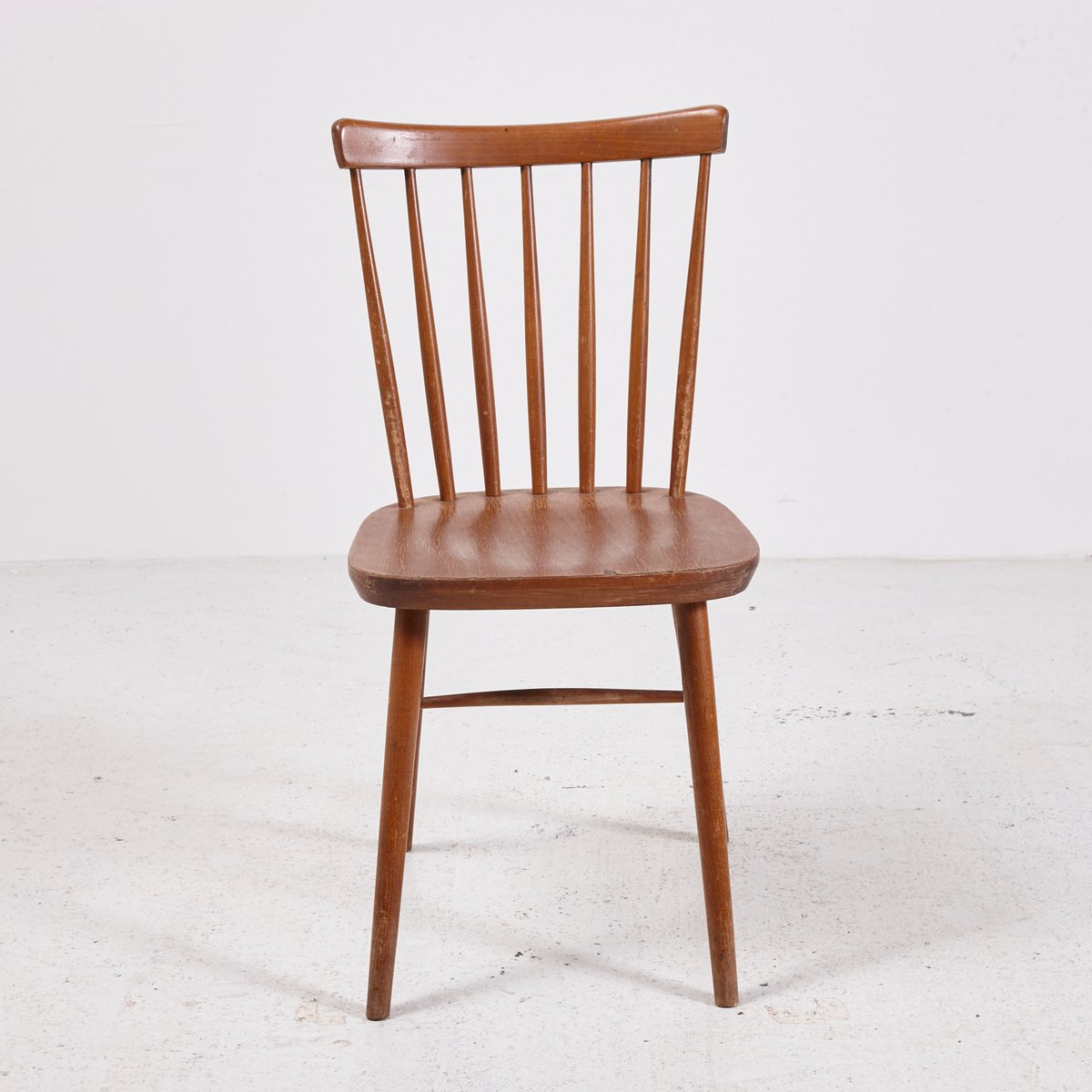 Superbe Vintage Wooden Chair, 1970s