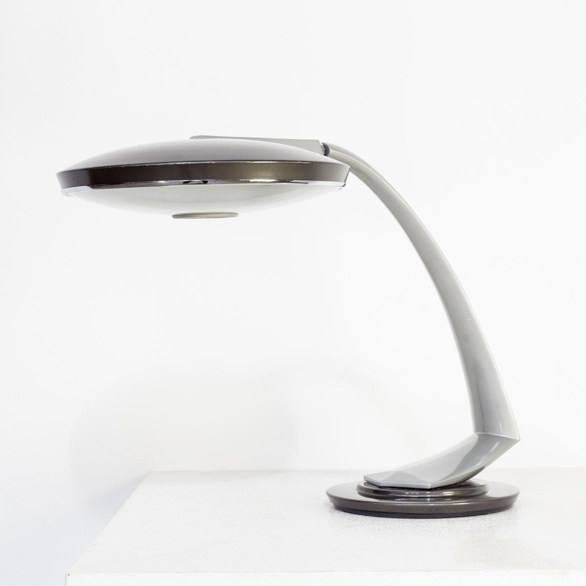 Vintage Boomerang 2000 Schreibtischlampe von Fase, 1960er