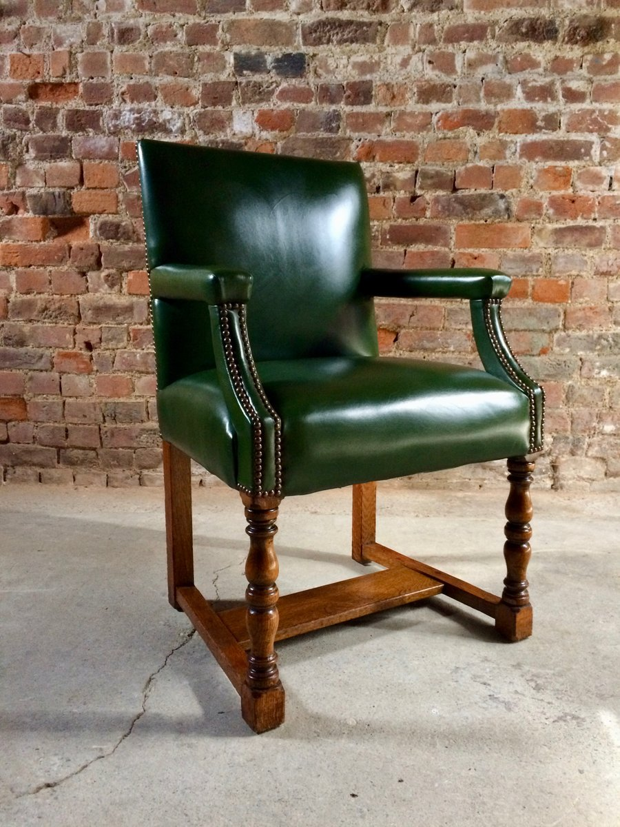 Antique Armchairs by Howard & Sons, Set of 11 - Antique Armchairs By Howard & Sons, Set Of 11 For Sale At Pamono