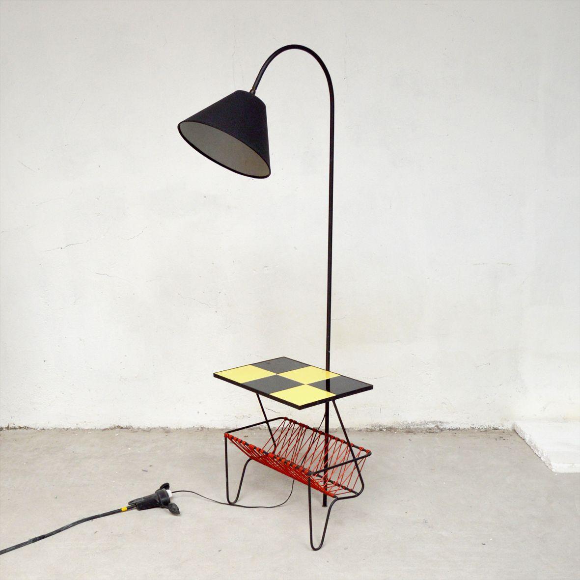 standleuchte mit ablage beistelltisch 1960er naturheilpraxis gelsenkirchen. Black Bedroom Furniture Sets. Home Design Ideas