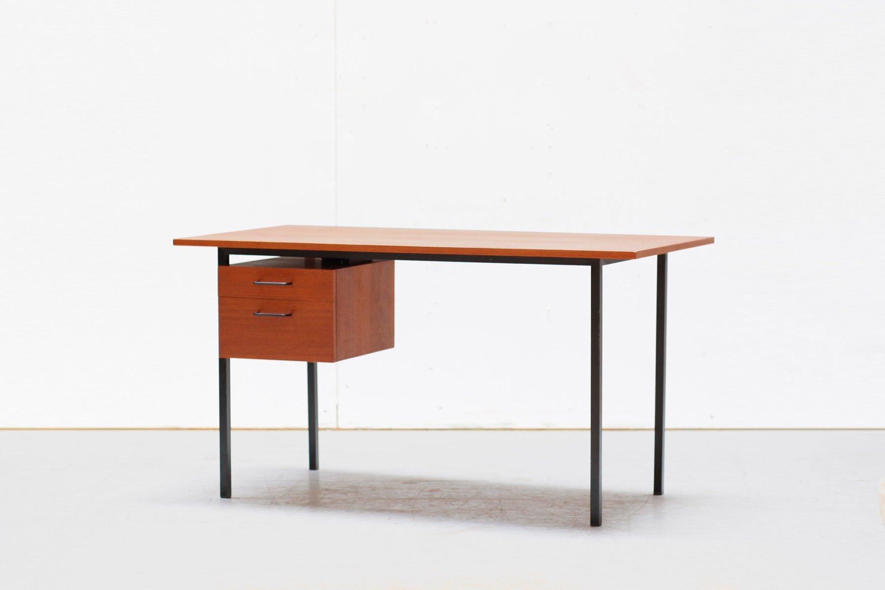 Mid Century Modern Teak Desk 1950s