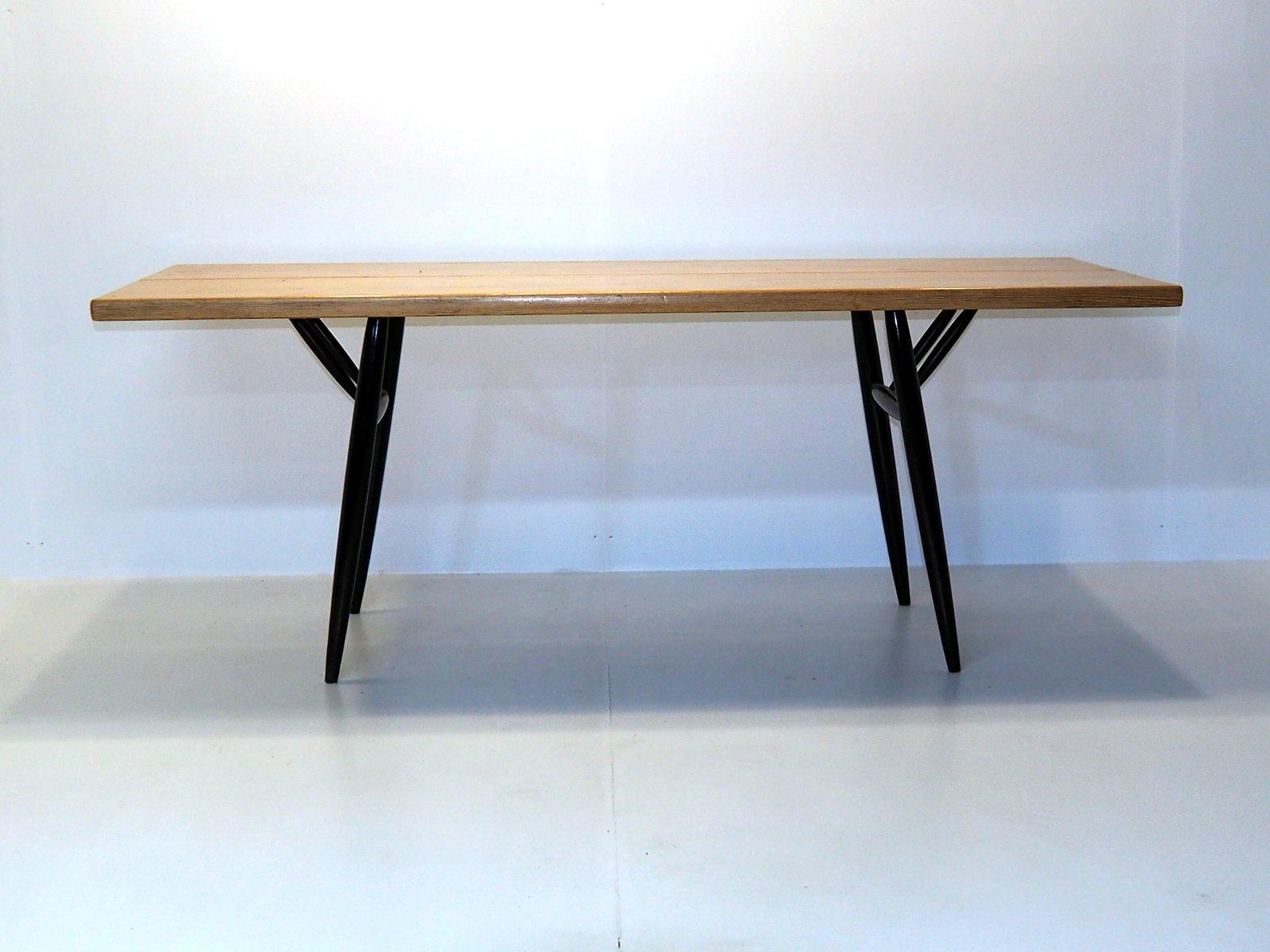 Mid-Century Pirkka Tisch von Ilmari Tapiovaara für Laukaan Puu