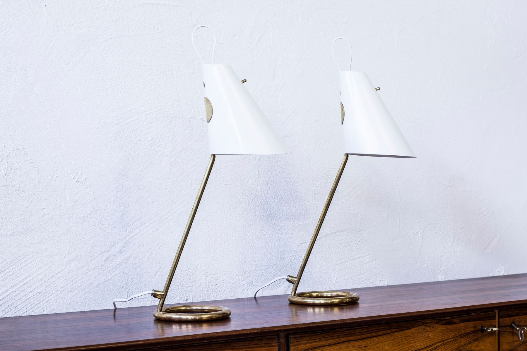B 90 Tischlampen von Hans Agne Jakobsson, 1960er, 2er Set