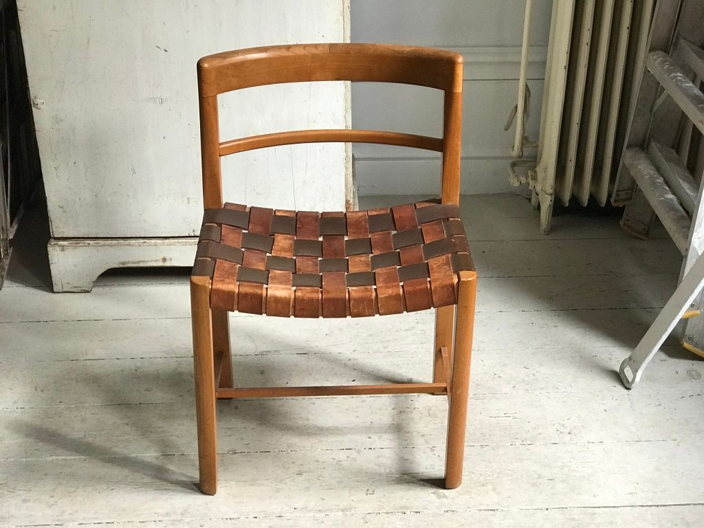 Gentil Scandinavian Desk Chair, 1940s