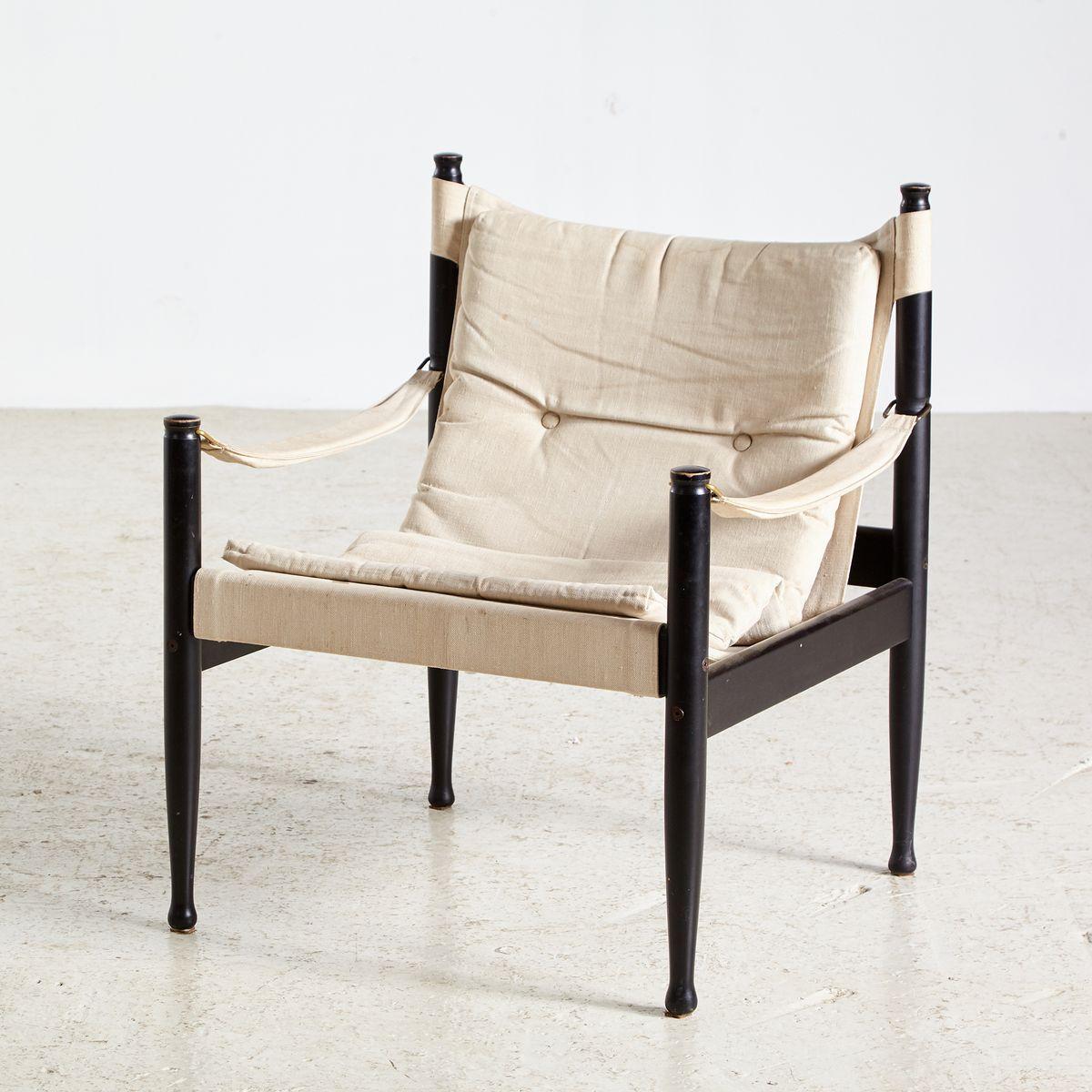 Safari Sessel von Erik Wørtz für Niels Eilersen, 1960er