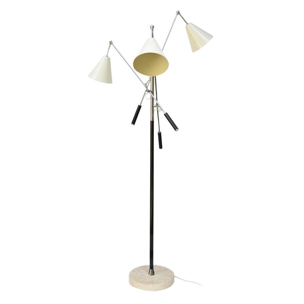 Vintage Triennale Stehlampe von Arredoluce