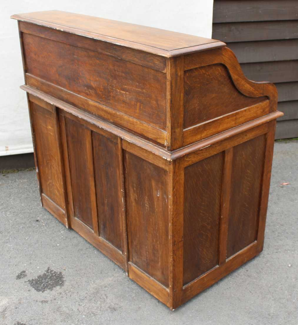 Oak Roll Top Desk 1930s 5 477 00
