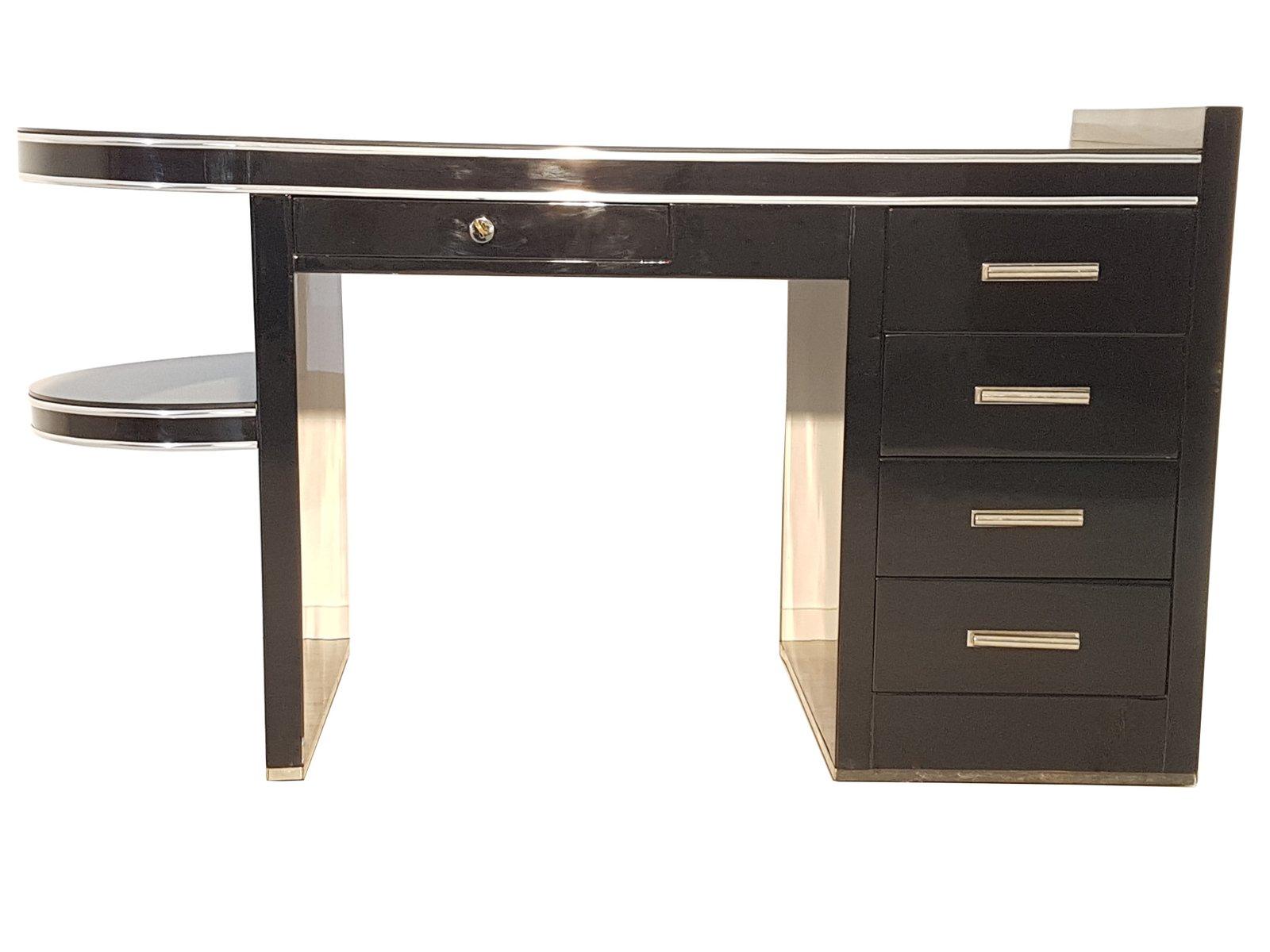 Bureau noir avec etagere mobilier de bureau en l avec étagère