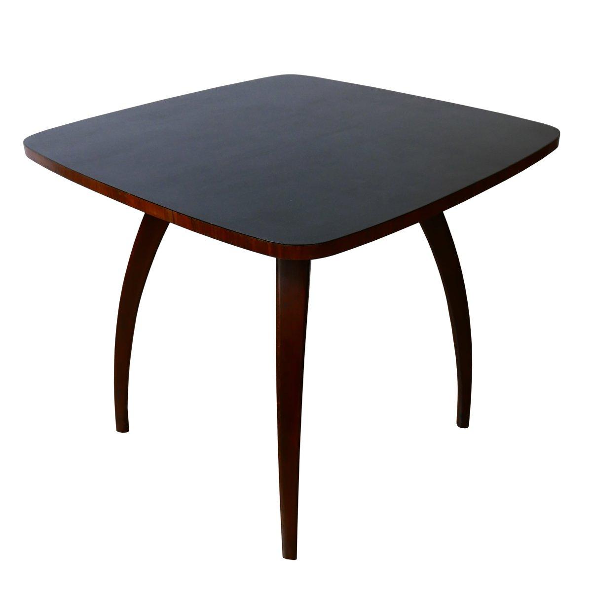 Vintage H-241 Tisch von Jind?ich Halabala für UP Brno