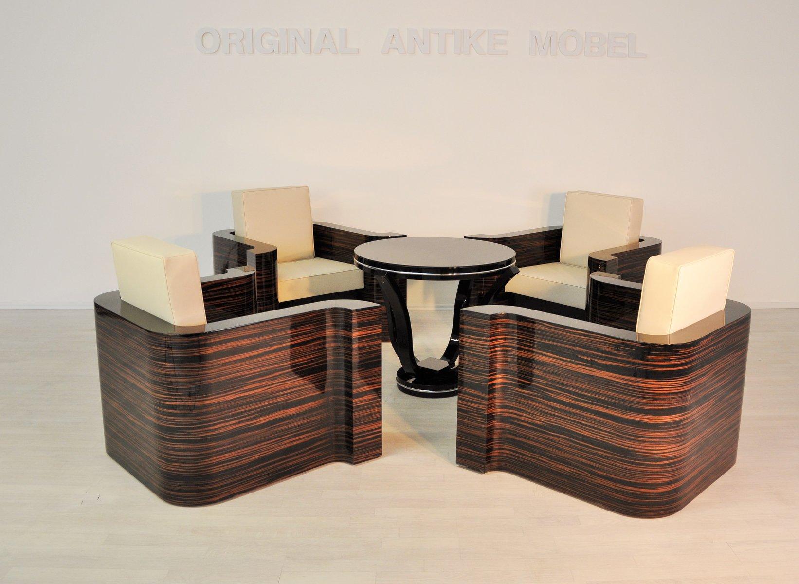 Macassar Lounge Chair, 1920er
