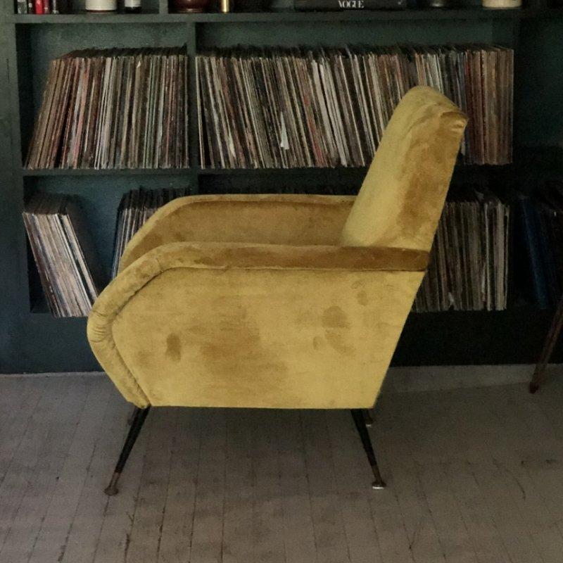 Italienische Sessel 1950er Bei Pamono Kaufen