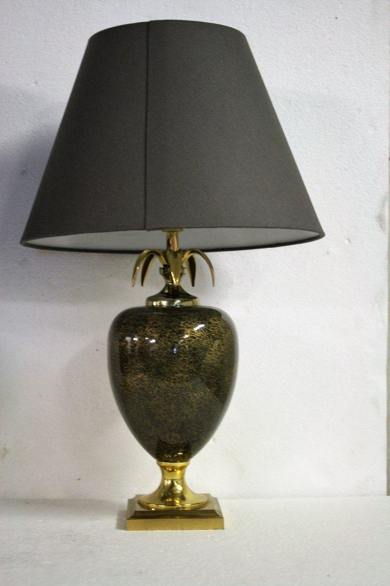 Vintage Ananas Tischlampen von Maison Le Dauphin, 1970er, 2er Set