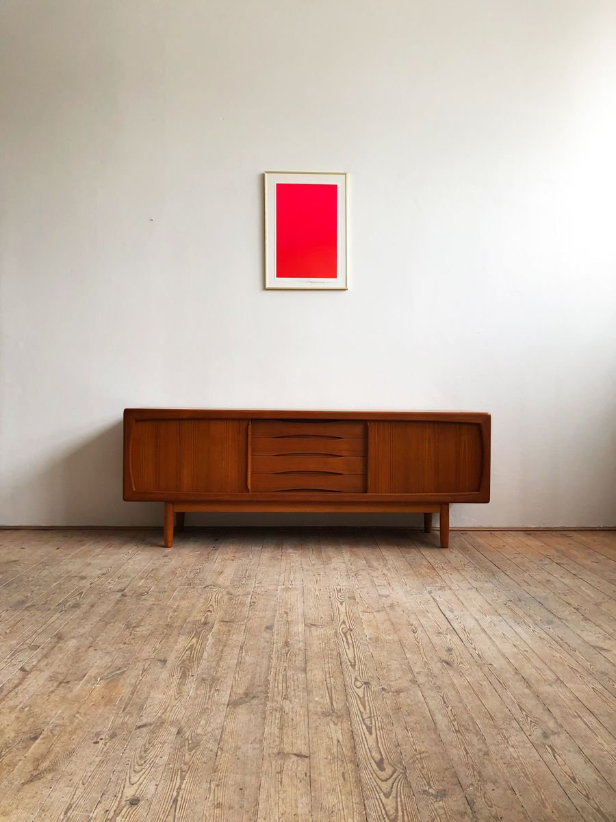 Mid-Century Modern Sideboard aus Teak von H.P. Hansen