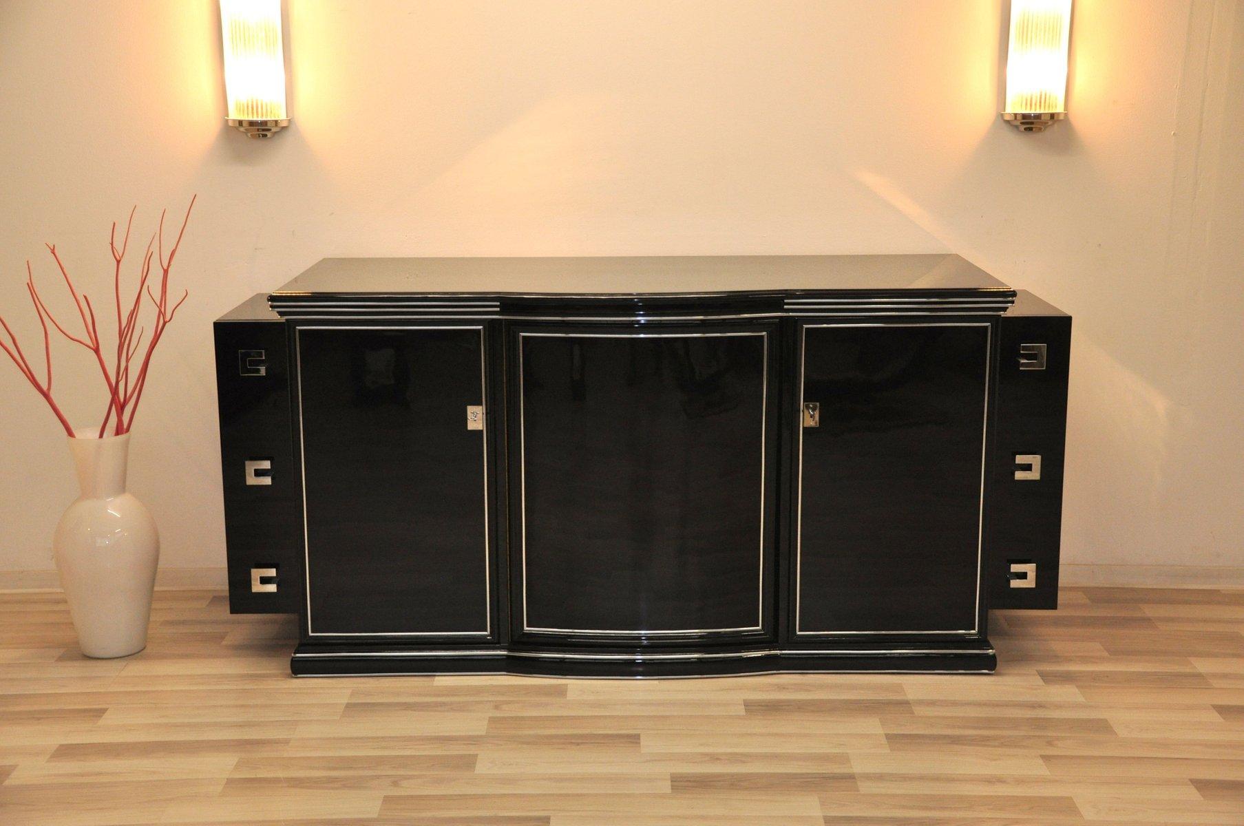 enfilade art deco 1930s en vente sur pamono. Black Bedroom Furniture Sets. Home Design Ideas