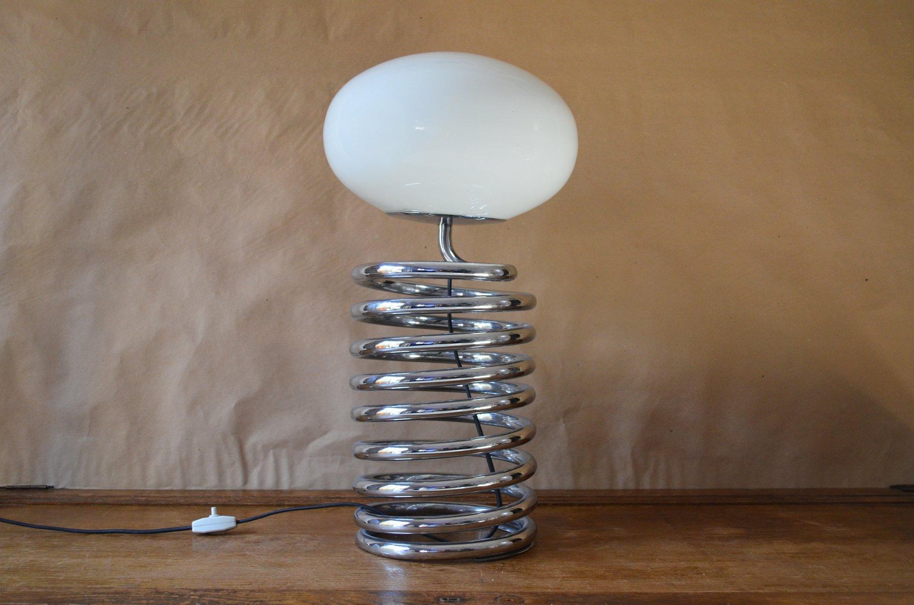 Spiralförmige Lampe von Ingo Maurer für Fase, 1960er