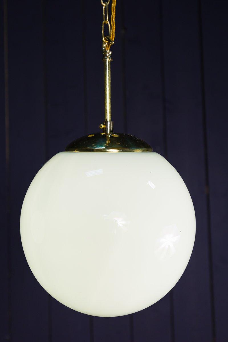 Vintage Opalglaslampe, 1970er