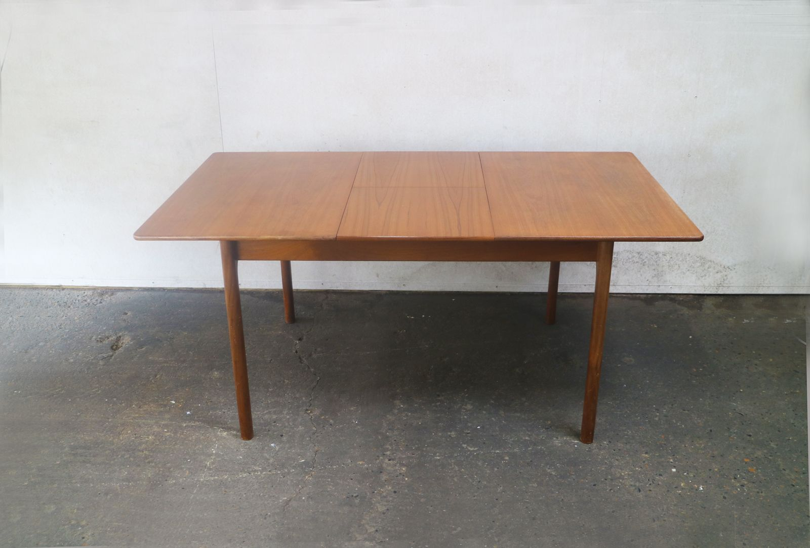 Mid Century Modern Extending Dining Table From Mcintosh