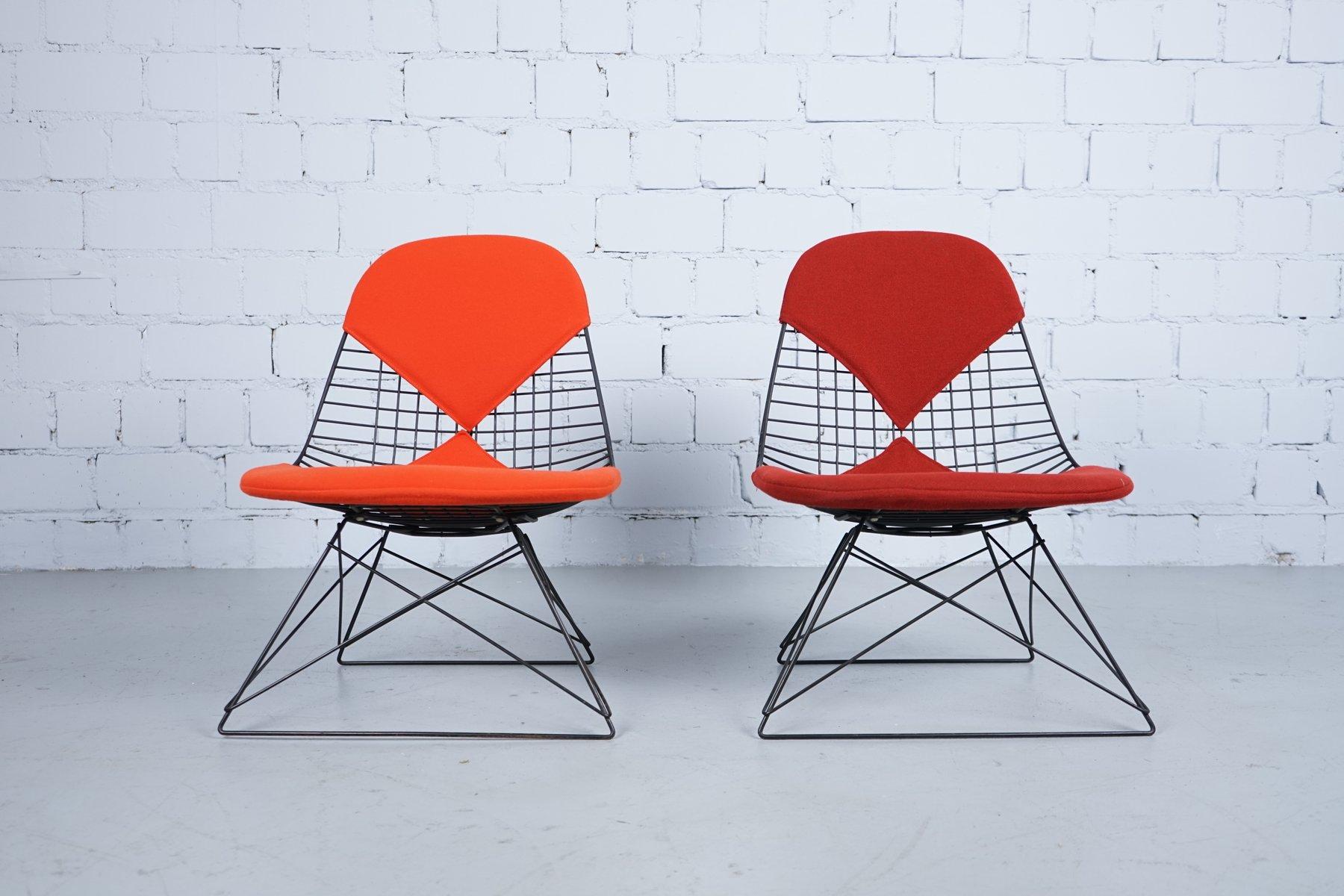 First Edition LKR Bikini Stühle von Charles & Ray Eames für Herman Mil...