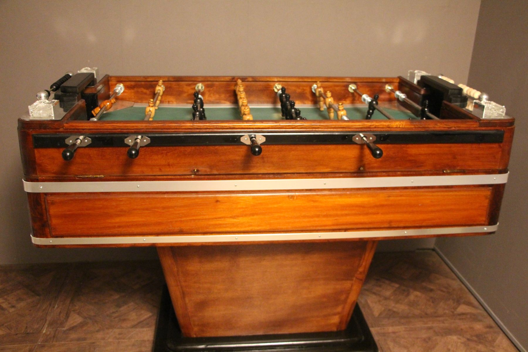 Wood Aluminum Foosball Table S For Sale At Pamono - Antique foosball table for sale