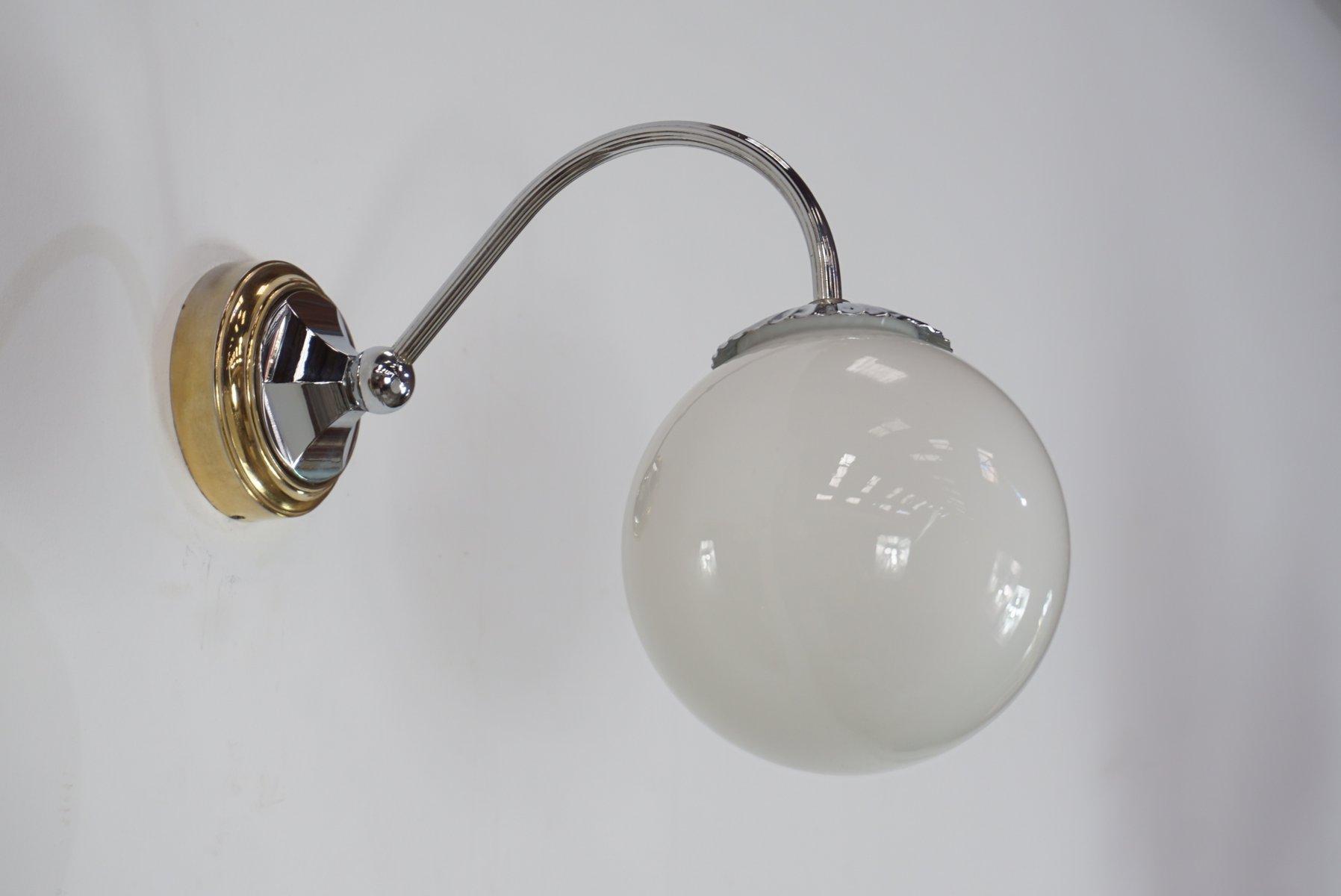 Mid-Century Schwananhals-Wandlampen, 2er Set