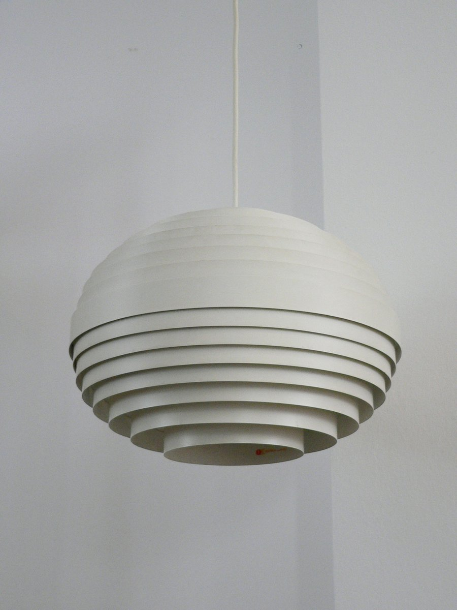 Deckenlampe von Wilhelm Vest für Vest Leuchten, 1960er
