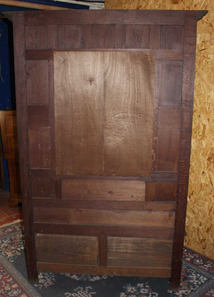 High Breton Hallstand With Storage Bench In Carved Oak 1920s 4 2 135 00 Price Per Piece