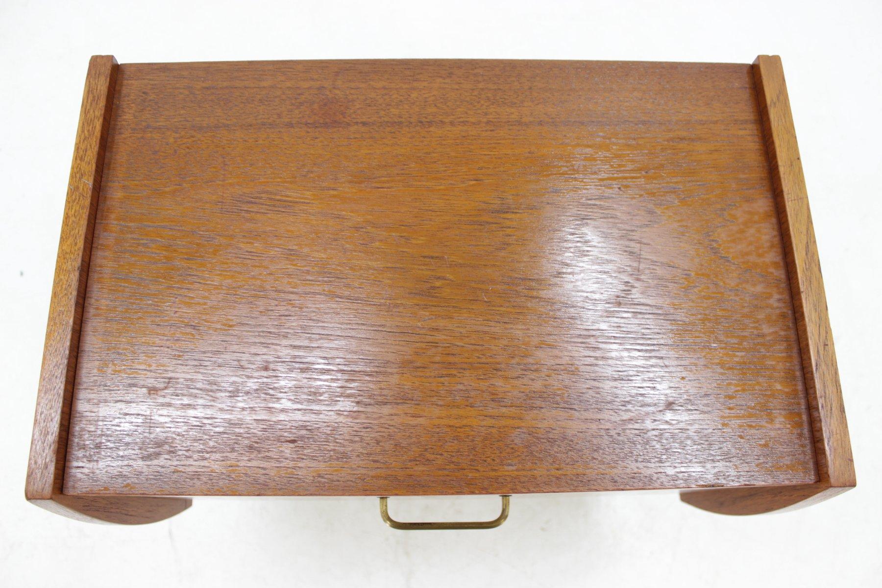petite table d 39 appoint danemark 1960s en vente sur pamono. Black Bedroom Furniture Sets. Home Design Ideas