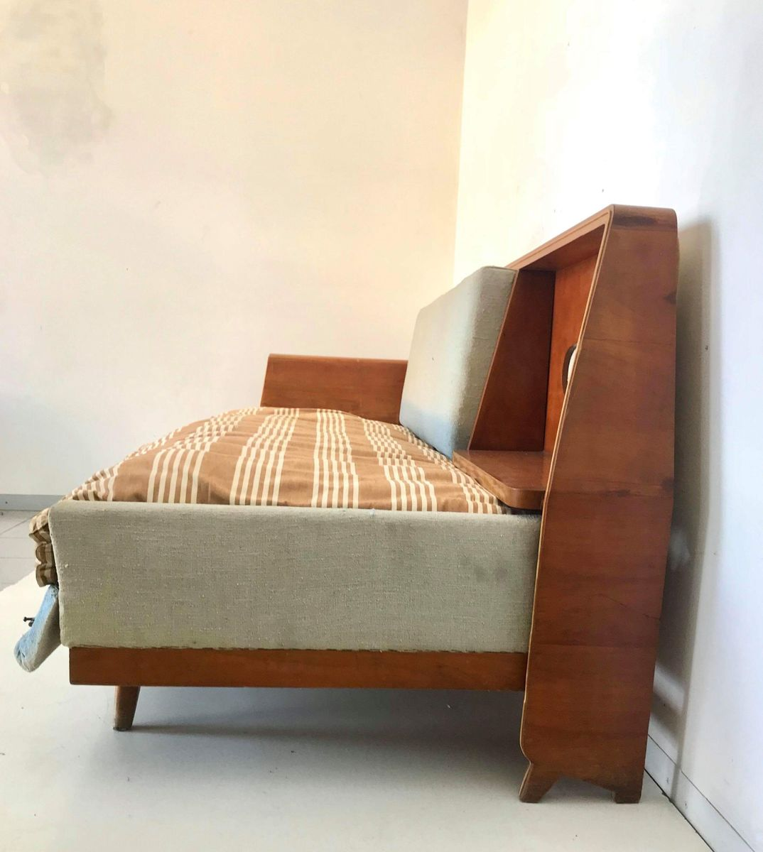 Sofa Bed With Storage Compartment, 1960s For Sale At Pamono