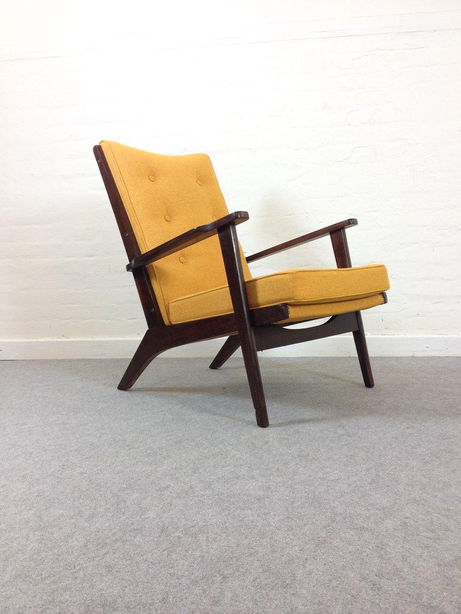 Mid-Century Sessel in Senfgelb von Parker Knoll, 1950er, 2er Set