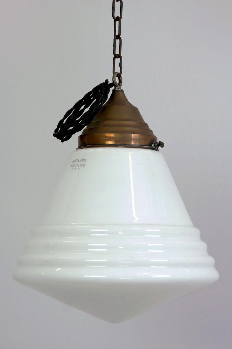 Phililite Deckenlampe von Philips, 1930er, 2er Set