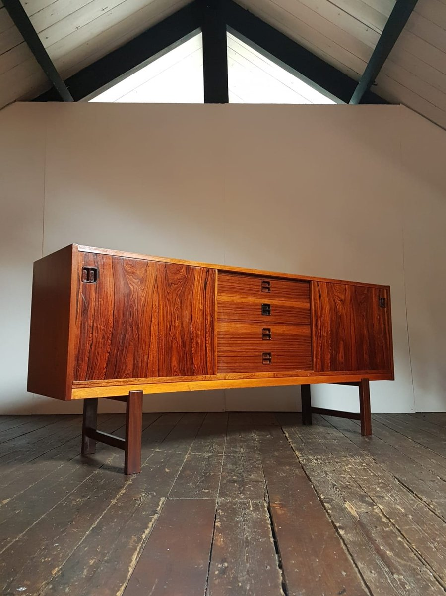 Mid-Century Sideboard aus Palisander von Erik Wortz, 1960er