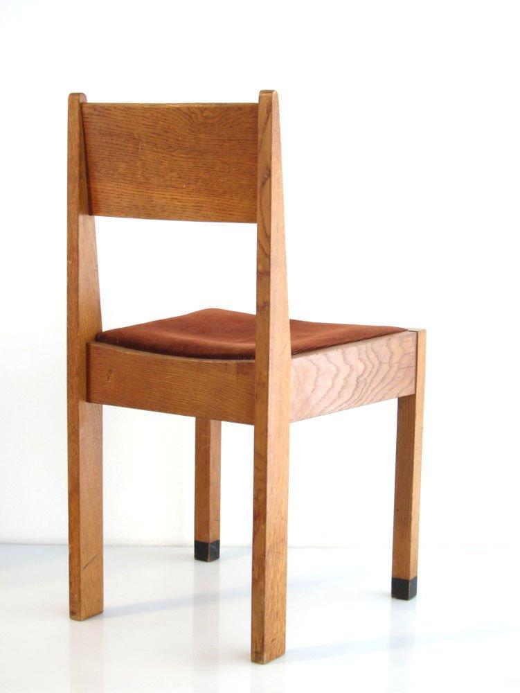 amsterdamer schule eichenholz st hle 1920er 2er set bei pamono kaufen. Black Bedroom Furniture Sets. Home Design Ideas
