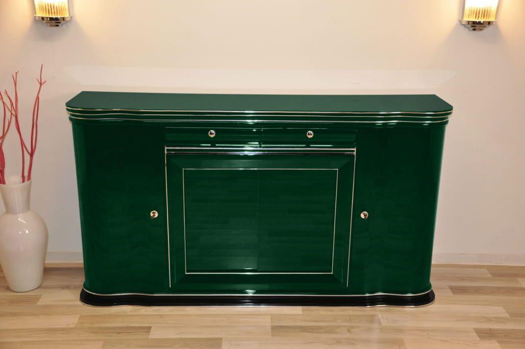 Britisches grünes Sideboard, 1932