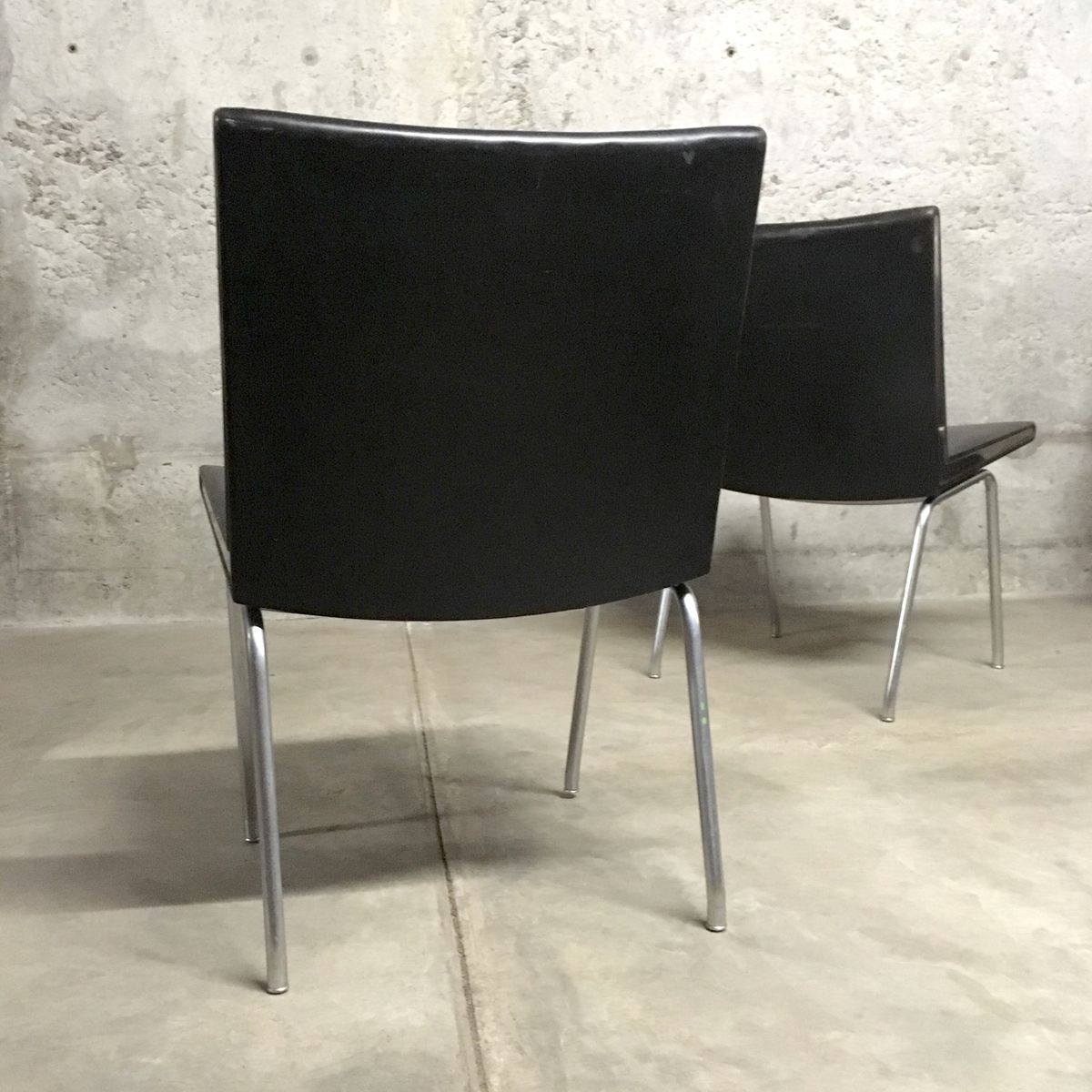 d nischer ap 40 stuhl von hans j wegner f r a p stolen 1950er bei pamono kaufen. Black Bedroom Furniture Sets. Home Design Ideas