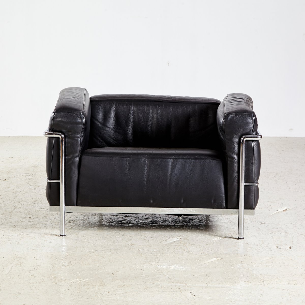 Vintage Lc3 Armchair By Le Corbusier For Cassina For Sale At Pamono