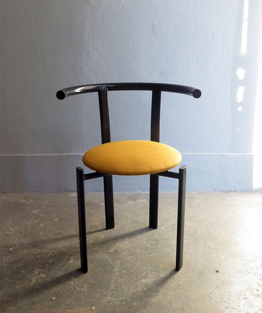 Blickfang Metall Stuhl Das Beste Von Vintage In Gelb & Schwarz