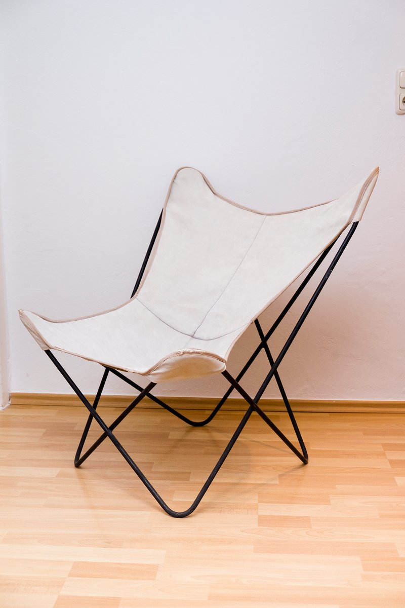 Butterfly Chair von Jorge Ferrari Hardoy für Knoll, 1940er