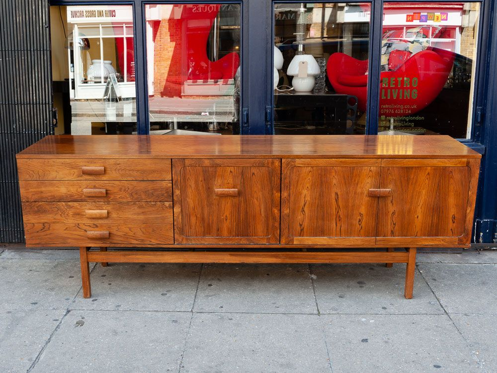 Palisander Sideboard von Bath Cabinet Makers, 1960er