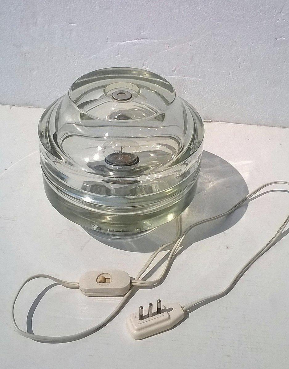 Tischlampe von Fidenza Vetraria, 1960er