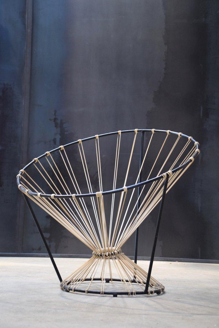 Coquetier Armlehnstuhl von Pierre Guariche für Steiner, 1955
