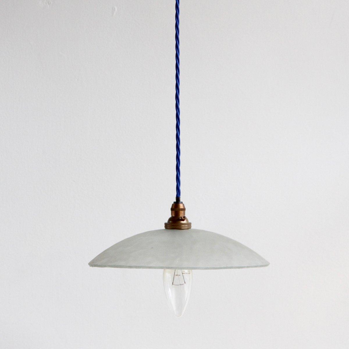 Vintage lampen mit schirmen aus milchglas 3er set bei for Vintage lampen