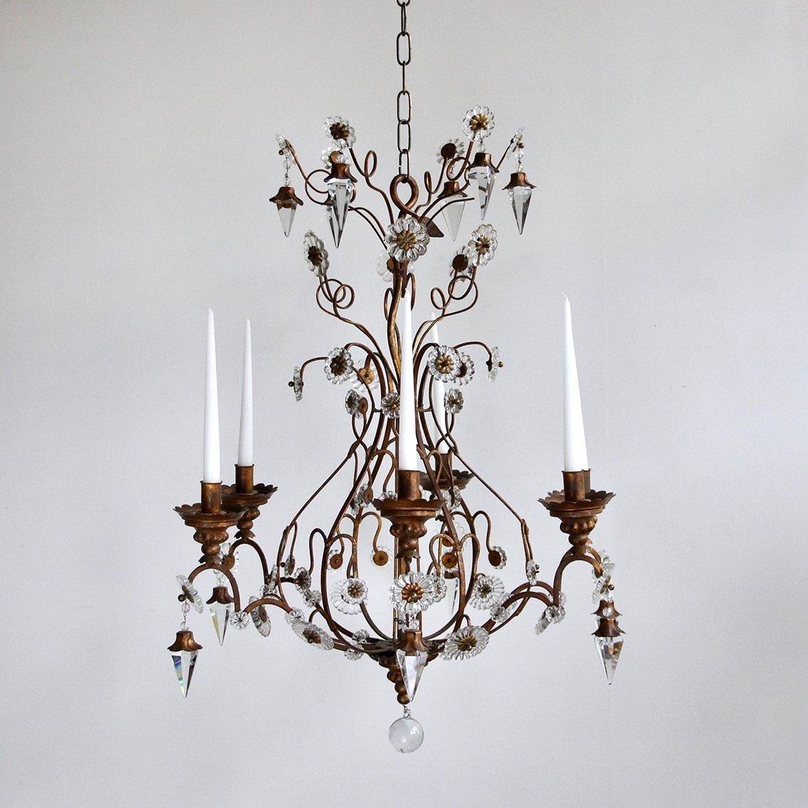 Antiker florentinischer Kronleuchter