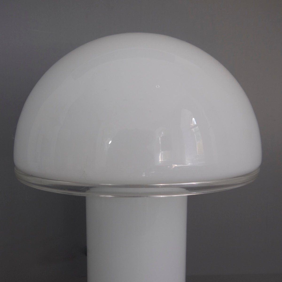 Onfale Mushroom Table Lamp By Luciano Vistosi For Artemide 1978 For
