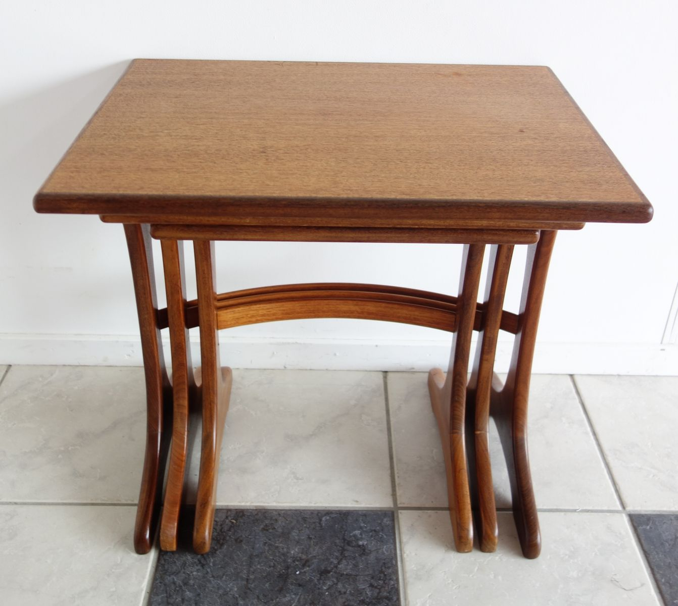 Fresco Teak Nesting Tables By Victor Wilkins For G Plan 1960s