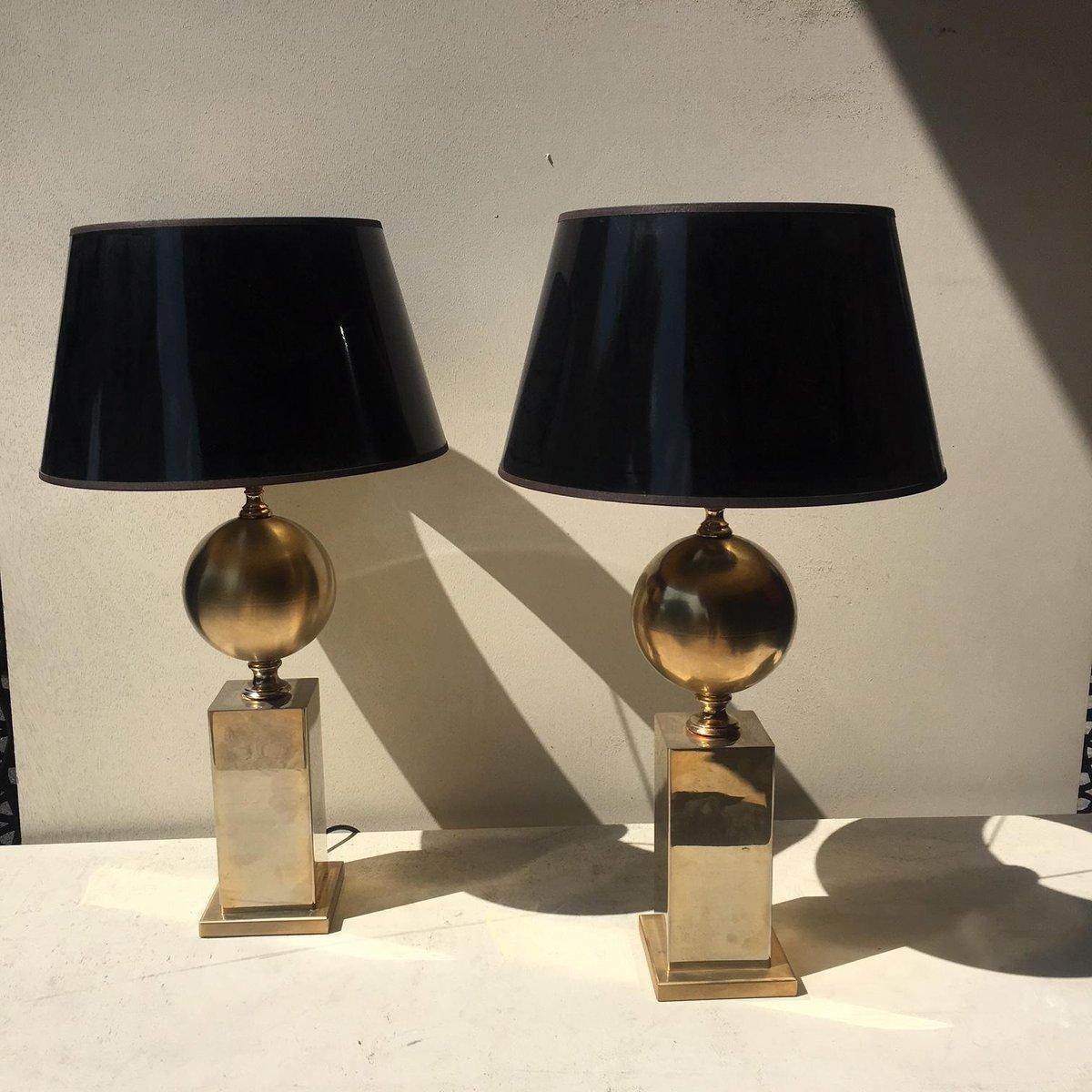 Vintage Lampen von Barbier Frères, 2er Set