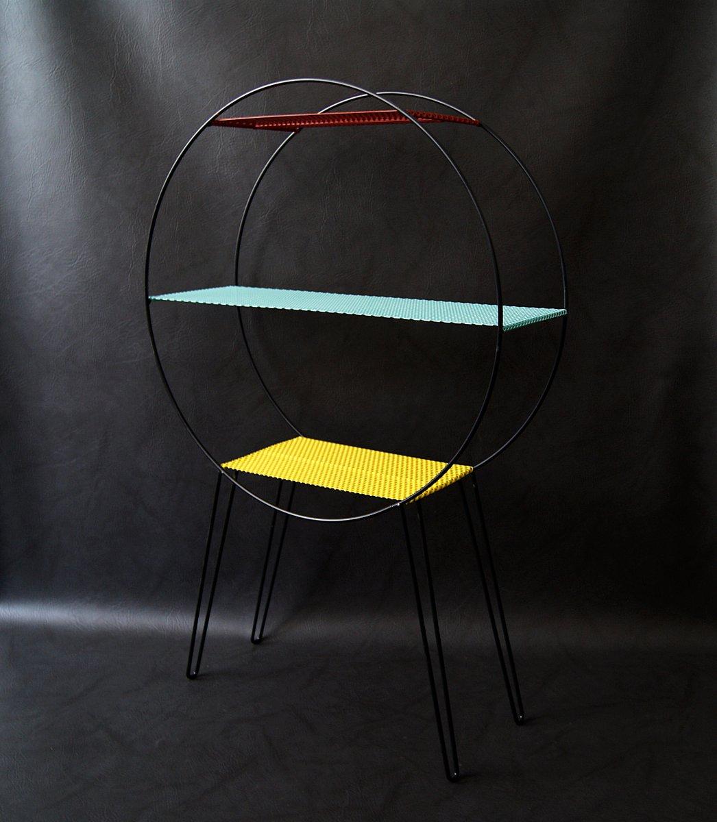 pflanzenst nder aus metall 1950er bei pamono kaufen. Black Bedroom Furniture Sets. Home Design Ideas